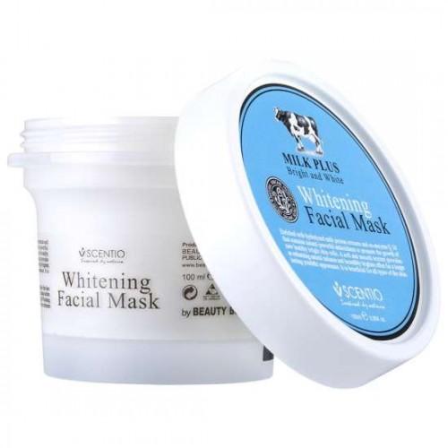 Mặt Nạ Dưỡng Trắng Da Scentio Milk Plus Q10 100g Thái Lan
