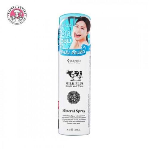 Xịt Khoáng Dưỡng Ẩm Da Scentio Milk Plus 50ml Thái Lan