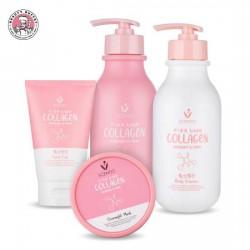 Combo Chăm Sóc Da Toàn Thân 4 Sản Phẩm Scentio Pink Collagen Thái Lan