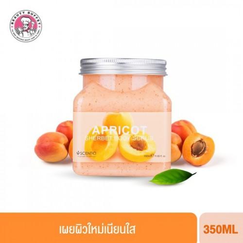 Kem Tẩy Tế Bào Chết Toàn Thân Scentio Apricot Sherbet Body Scrub Thái Lan [Hương Mơ]