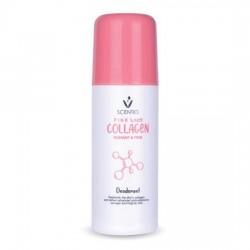 Lăn Khử Mùi Khô Thoáng Scentio Pink Collagen 50ml Thái Lan