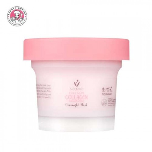 Mặt Nạ Ngủ Scentio Pink Collagen 100ml Thái Lan