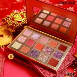 Bảng Phấn Mắt 15 Màu Sivanna Colors HF5031 Thái Lan