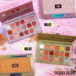 Hộp Phấn Mắt 18 Ô Sivanna Colors HF6037 Thái Lan