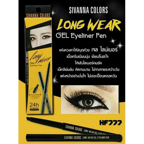 Chì Kẻ Mắt Sivanna Colors Long Wear Gel Eyeliner Pen HF777 Thái Lan
