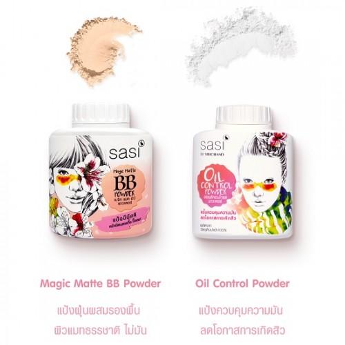 Phấn Phủ Sasi Magic Matte BB Powder 30g Thái Lan