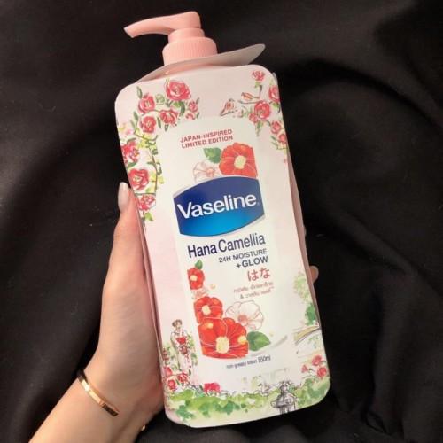 Sữa dưỡng thể Vaseline Hana Camellia Thái Lan