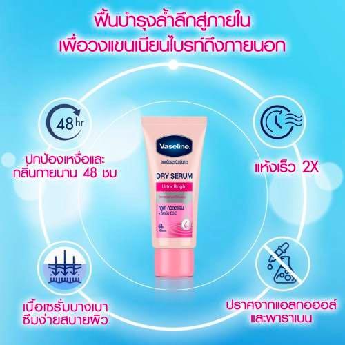 Serum Trị Thâm Nách, Trắng Nách CTC48 Vaseline 50ml Thái Lan Chính Hãng