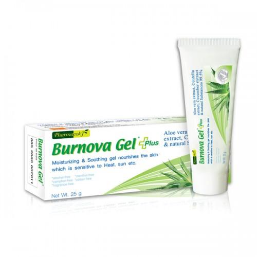 Gel trị bỏng tái tạo da tổn thương Burnova Gel Plus