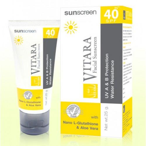 Kem chống nắng và làm trắng da Vitara Sunscreen SPF 40+ PA++