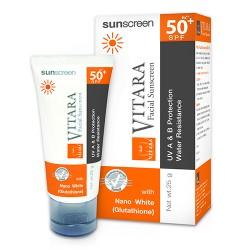 Kem chống nắng và làm trắng da Vitara Sunscreen SPF 50+ PA++