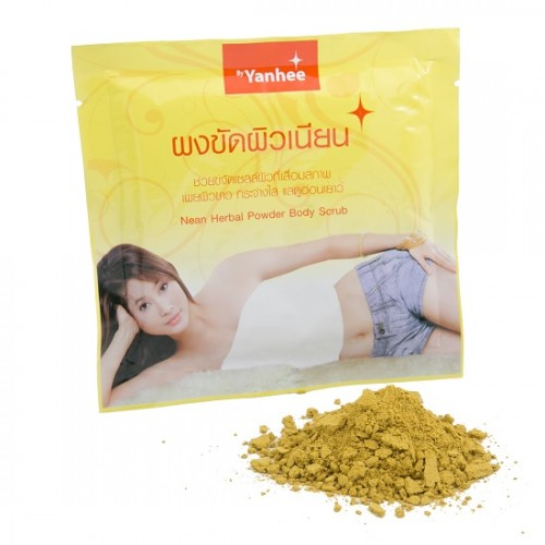 Bột Tắm Trắng Thảo Dược Yanhee Herbal Body Scrub 100g Thái Lan