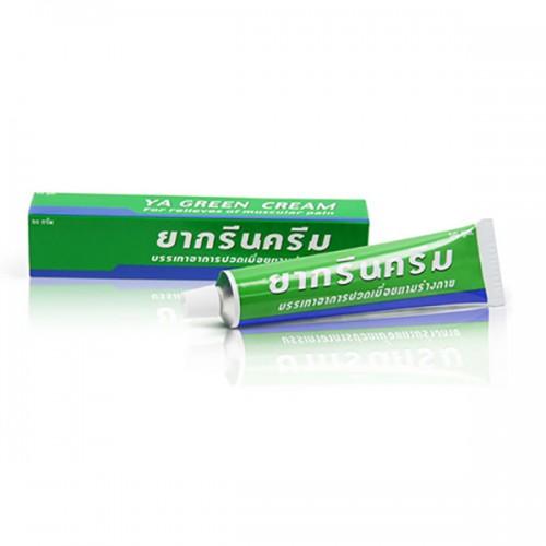 Kem Thoa Dau Nhức Xương Khớp - Bong Gân - Kem Lạnh - Dùng Tốt Cho Bệnh Gout YA Green Cream