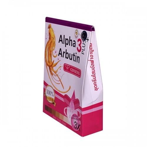 Bộ set làm trắng da Alpha Arbutin 3 plus nhân sâm 4 món