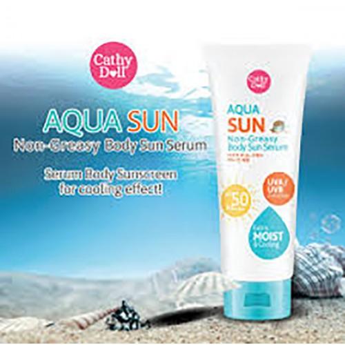 Kem chống nắng Cathy Doll Aqua Sun Non-Sreasy Body Sun Serum SPF50 PA+++