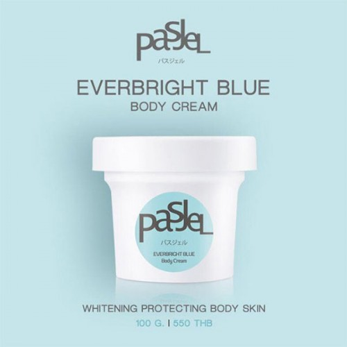 Kem dưỡng trắng Body Pasjel Everbright Blue Body Cream