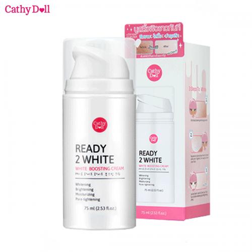 Kem dưỡng trắng da Cathy Doll Ready 2 White - White Boosting Cream 75ml