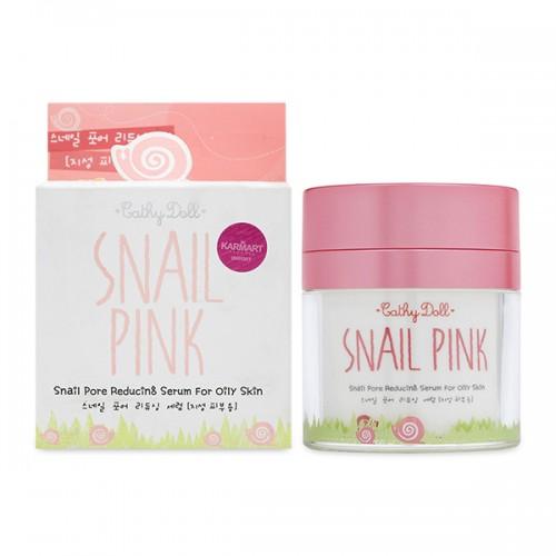Kem ốc sên dưỡng ẩm & trắng da Cathy Doll Snail Pink