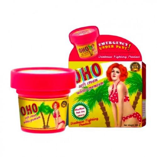 Kem Trị Rạn Da, Thâm Mông OHO Soft Cream White 100g Thái Lan