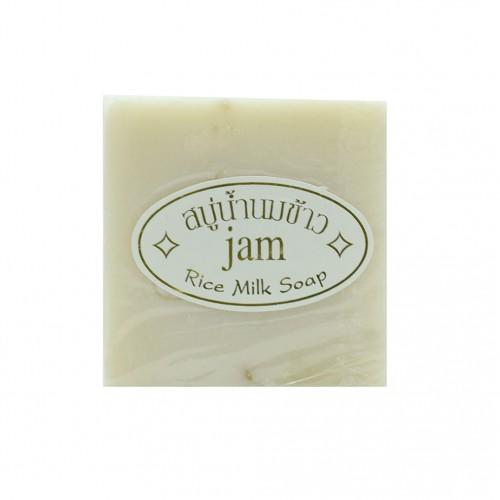 Xà Phòng Kích Trắng Da Cám Gạo Thái Lan Jam Rice Milk Soap
