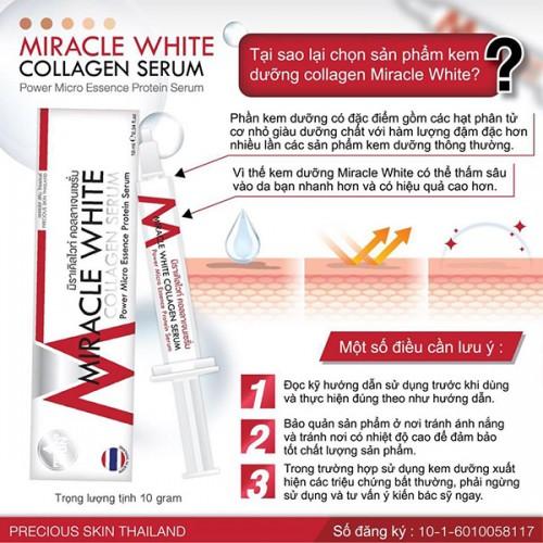 Serum dưỡng da Miracle White Collagen