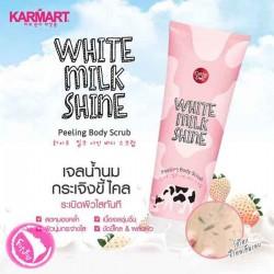 Tẩy da chết toàn thân Cathy Doll White Milk Shine Thái Lan