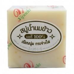 Xà Phòng Cám Gạo Trắng Da Vipada Rice Milk Soap 65g Thái Lan