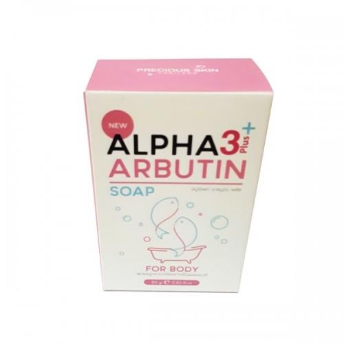 Xà phòng trắng da Alpha Arbutin Soap For Body 3+ Plus - New