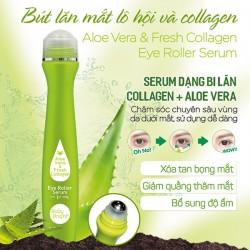 Cây lăn mắt lô hội và collagen tươi 15ml