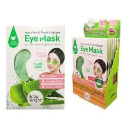Mặt Nạ Trị Thâm Quầng Mắt Aloe Vera & Fresh Collagen Eye Mask x 1 Hộp