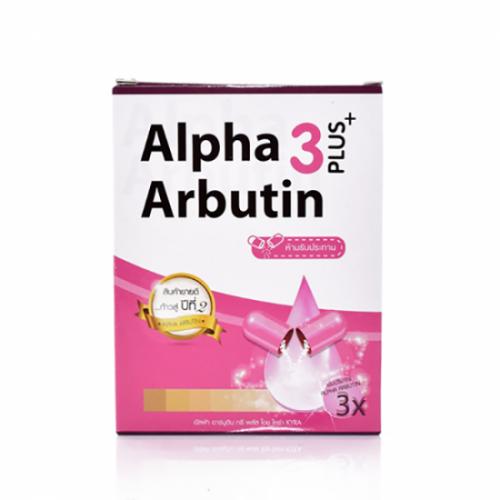 Combo bộ 4 kích trắng da Alpha Arbutin 3 + Plus thần thánh mới