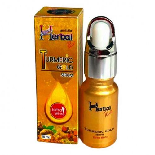 Serum Nghệ Vàng Trị Mụn Trắng Da Mặt CTC16 Herbal Plus 10ml Thái Lan Chính Hãng