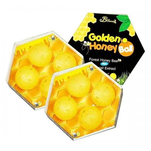 Lăn kim Soap ong B'Secret Golden Honey Ball