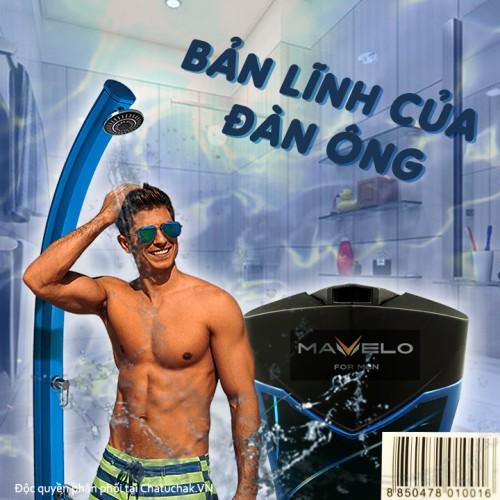 Sữa tắm cho nam thái lan Mavelo Vortex Body Wash For Men 180ml