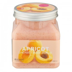 Tẩy da chết toàn thân Scentio Apricot Sherbet Body Scrub - Hương Mơ