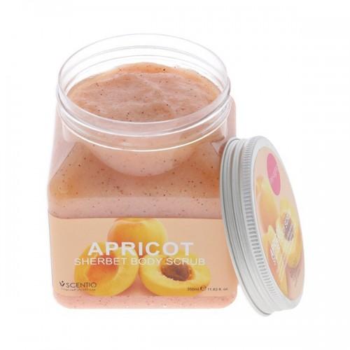 Kem Tẩy Tế Bào Chết Toàn Thân Scentio Apricot Sherbet Body Scrub - Hương Mơ