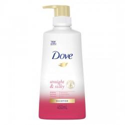 Dầu Gội Giúp Tóc Thẳng Mượt Dove Straight & Silky Shampoo 450ml Thái Lan