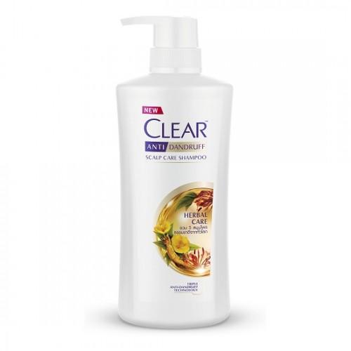 Dầu gội đầu Clear Herbal Care nhân sâm thái lan 450ml - mẫu mới
