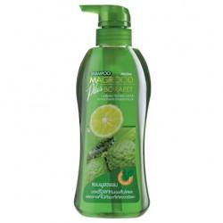 Dầu Gội Đầu Trị Gầu Mistine Magrood Plus Borapet Shampoo Hương Chanh 400ml Thái Lan