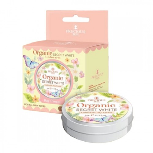 [Organic] Kem Trị Thâm Nách Organic Secret White Underarm Cream 50g Thái Lan