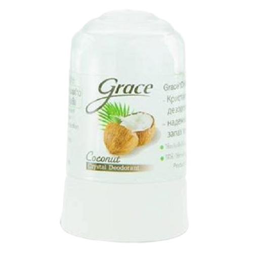 Lăn Khử Mùi Đá Khoáng Grace Hương Dừa 70g Thái Lan