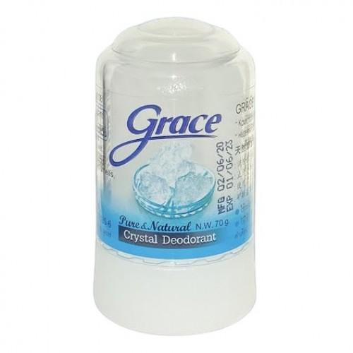 Lăn Khử Mùi Đá Khoáng Grace Hương Tự Nhiên 70g Thái Lan
