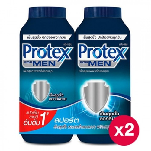 Phấn lạnh Protex Cool Power For Men Sport 280g Pack 2