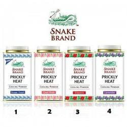 Phấn lạnh Snake Brand Prickly Heat