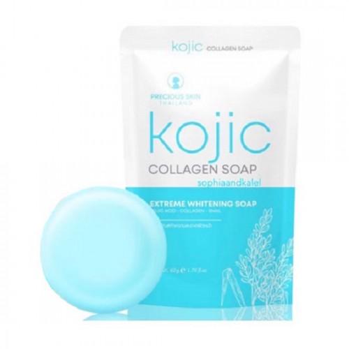 Xà Phòng Kích Trắng Tẩy Mụn Kojic Collagen Soap Thái Lan