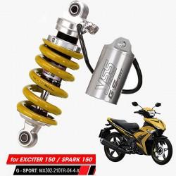 Phuộc YSS G-Sport Exciter 150/Spark 150 MX302-210TR-04-4-X Thái Lan