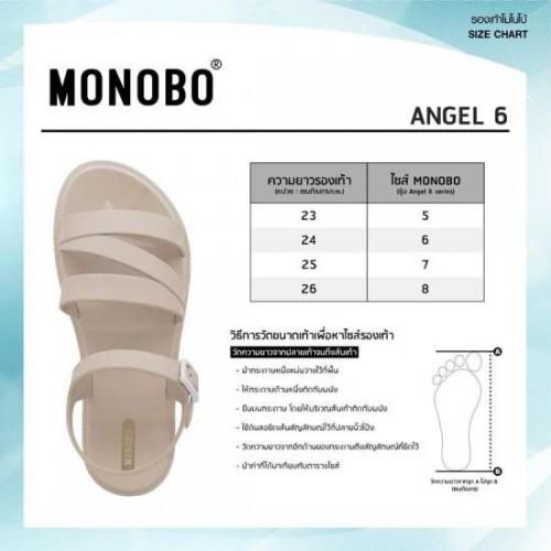 Giày Sandal Nữ Monobo Angel 6.2 Matte Thái Lan [Full Size Full Màu]