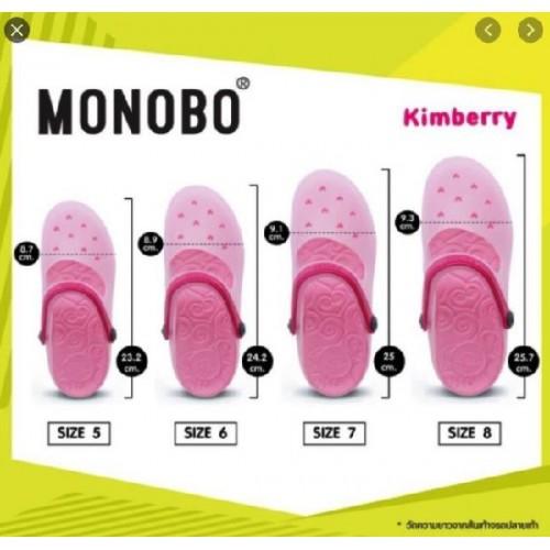 Giày Nhựa Đi Mưa Monobo Kimberry Thái Lan [Full Size Full Màu]