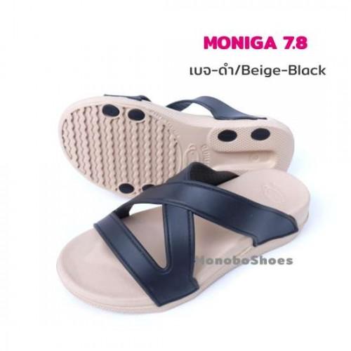 Dép Nữ Quai Chéo Đế Cao Monobo Moniga 7.8 Thái Lan