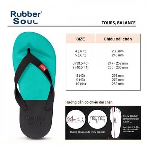 Dép Lào Thái Lan Nhập Khẩu Thương Hiệu Rubber Soul Balance